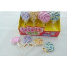 Kawaii Erasers - 32pcs Big Lollipop Erasers (4 Colours) in Wholesale Box