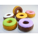 6 pieces Iwako  Colour Icing Doughnut Japanese Erasers Made in Japan