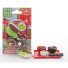 Iwako 1 set Blister Anmitsu Shop Desserts Gift Set Japanese Erasers Made in Japan