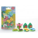 Iwako 1 set Blister Bugs World Gift Set Japanese Erasers Made in Japan