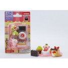 Iwako 1 set Blister Pack Desserts Cakes Japanese Erasers Made in Japan
