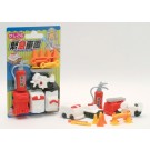 Iwako 1 set Blister Fire Engine Rescue Emergency Japanese Erasers Made in Japan