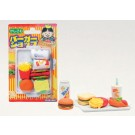 Iwako 1 set Blister Pack Fast Foods & Drinks Japanese Erasers Made in Japan