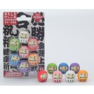 ZakkaUK Iwako 10pcs Blister Japanese Daruma Gift Set Japanese Erasers in Wholesale Box