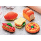 5 pieces Iwako  Fresh Bakery Japanese Erasers Made in Japan