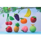 9 pieces Iwako  Fresh Fruits Japanese Erasers Made in Japan