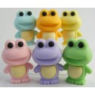 6 pieces Iwako  Froggy Frogs Vol. 1 Japanese Erasers Made in Japan
