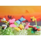 9 pieces Iwako  Insects World - Ladybird, Dragonfly, Butterfly and Busy Bee Japanese Erasers Made in Japan