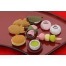 7 pieces Iwako  Japanese Desserts Sweets Japanese Erasers Made in Japan