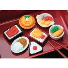 7 pieces Iwako  Japanese Foods Japanese Erasers Made in Japan