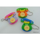 6 pieces Kawaii Telephone Rubbers Erasers