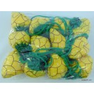 ZakkaUK  Foldable Eco Bag - Fruit Pineapple (24pcs)