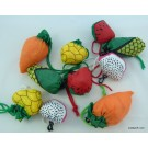ZakkaUK  Foldable Eco Bag - Fruits and Vegetables (24pcs)