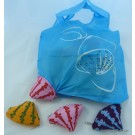 ZakkaUK  Foldable Eco Bag - Ocean Sea Shell Type A (24pcs)