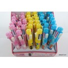 ZakkaUK Kawaii Animal 7+1 (8in1) Multi-colours Ball Point Pen and Mechanical Pencil (36pcs - 3 Design)
