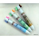 ZakkaUK Kawaii Animal Design Dual Colour Red & Blue Ball Point Pen (48pcs - 3 Design)
