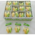 Kawaii Erasers - 48 pairs Small Cute Face Banana Erasers in Wholesale Box