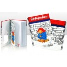 ZakkaUK Paddington Bear Spiral Bound Notebook Cut Out Cover Size: A5 (6 books)